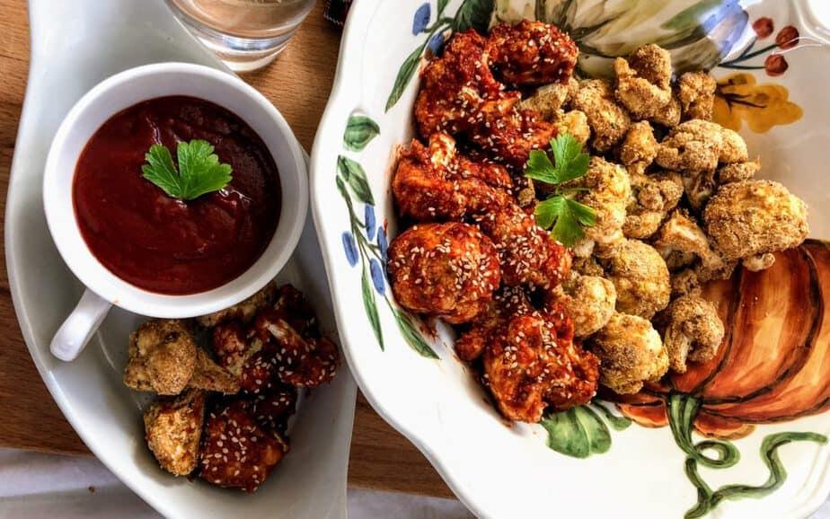 Vegan Fried Chicken with Cauliflower Recipe
