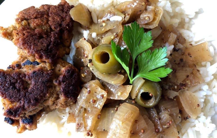 Vegan Senegalese Chicken Yassa | Poulet Yassa