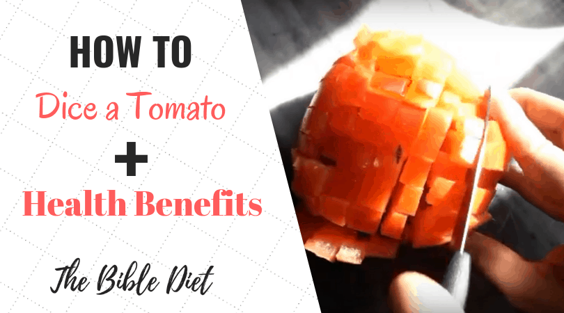 How To Perfectly & Quickly Dice a Tomato
