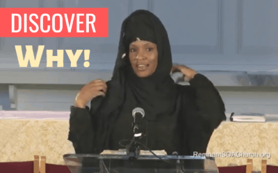 Esmie Branner Wears a Veil in a SDA Church… Watch until the End to Discover Why!
