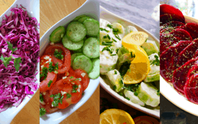 4 QUICK & EASY Salad Recipes
