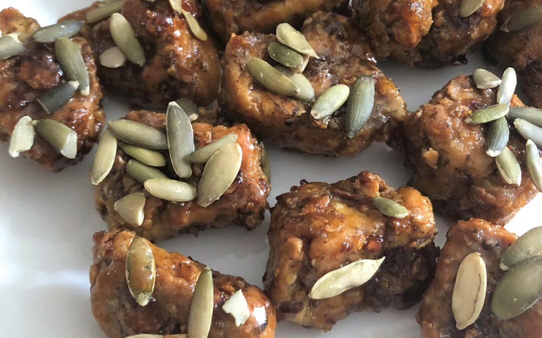 Honey butter Vegan Fried Chicken   Air Fryer Recipe
