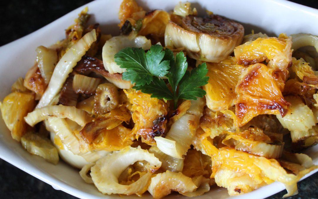 Simple cooked fennel & orange recipe